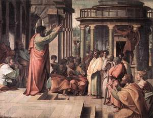 VA_-_Raphael_St_Paul_Preaching_in_Athens_1515